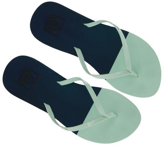 reef Bliss Toe Dip Toe Separator Comfortable Ladies Summer Sandals Blue / Mint