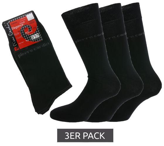 [Pack] Lot de 3 paires de chaussettes intemporelles Pierre Cardin à haute teneur en coton