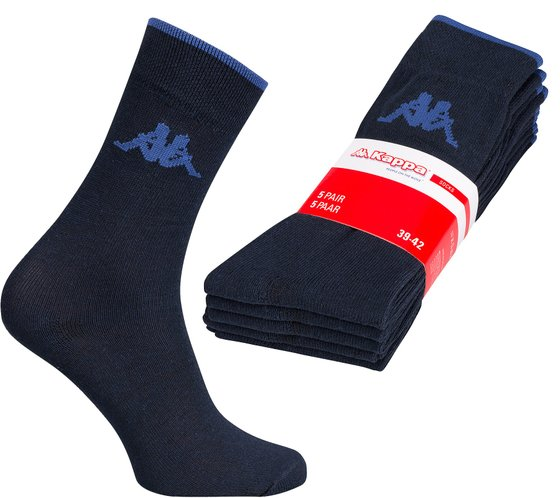 5 Pack Kappa Men´s Socks Blue Stockings