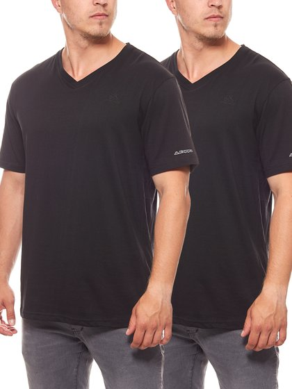 Pack of 2 Kappa Sebbo 2 Men Undershirt Black 704142 005
