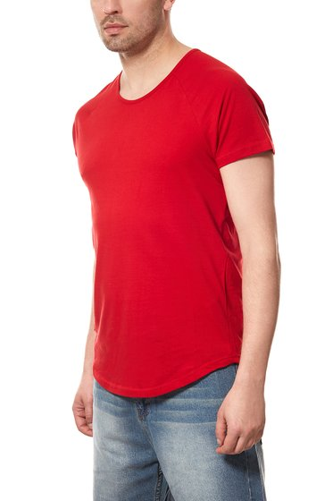 Spartans History Basic Oval Mens T-Shirt Red 400ST