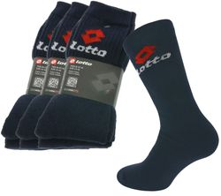 9-Pack Lotto Socks Blue Socks