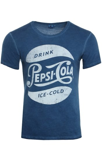 PepsiCo Men's T-Shirt Blue TX425 0190918