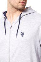 U.S. POLO ASSN. Sweatjacke Herren Sweater Grau – Bild 3