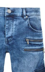 Tazzio Fashion Joe Herren Jeans Blau im Used Look Slim – Bild 2