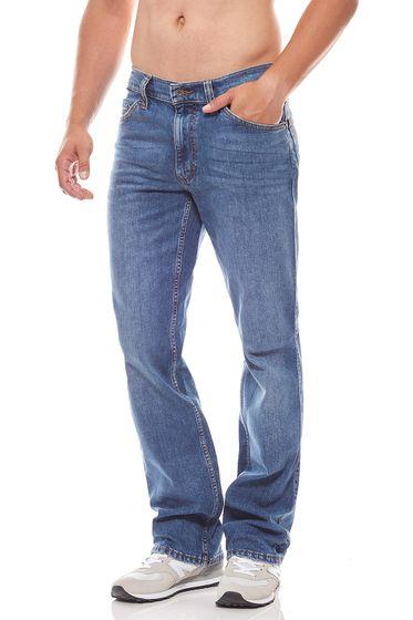 MUSTANG Hose klassische Herren Jeans Oklahoma Blau