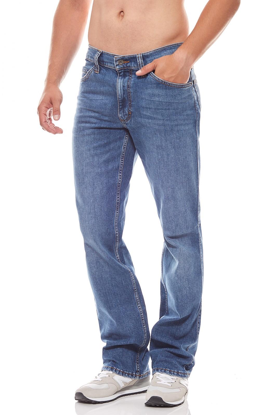 W36 L36 Size Mustang Oregon Boot Klassische Herren Jeans