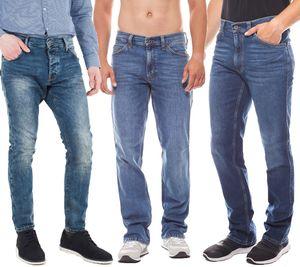 MUSTANG Hose klassische Herren Jeans Blau