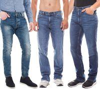 MUSTANG Hose klassische Herren Jeans Blau – Bild 1