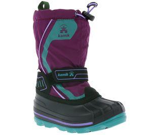 kamik Kinder-Boots Snowcoast 4 G Violett Futter – Bild 1