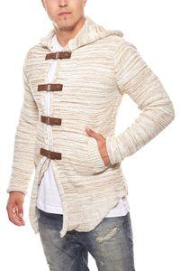 Tazzio Fashion Hoody Strick-Jacke Cardigan – Bild 6