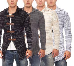 Tazzio Fashion Pullover Hoody Strick-Jacke Cardigan