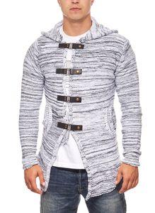 Tazzio Fashion Hoody Strick-Jacke Cardigan – Bild 10