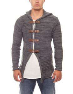 Tazzio Fashion Hoody Strick-Jacke Cardigan – Bild 15