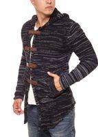 Tazzio Fashion Hoody Strick-Jacke Cardigan – Bild 3