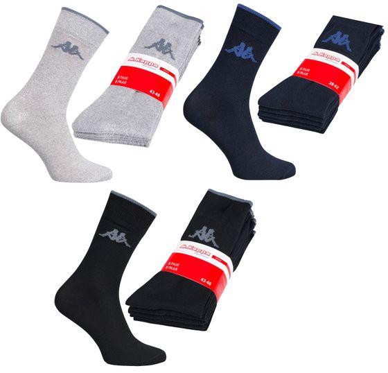 5er Pack Kappa Herren Socken Alltagssocken Strümpfe