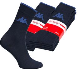 10er Pack Kappa Herren Socken Blau Business-Strümpfe