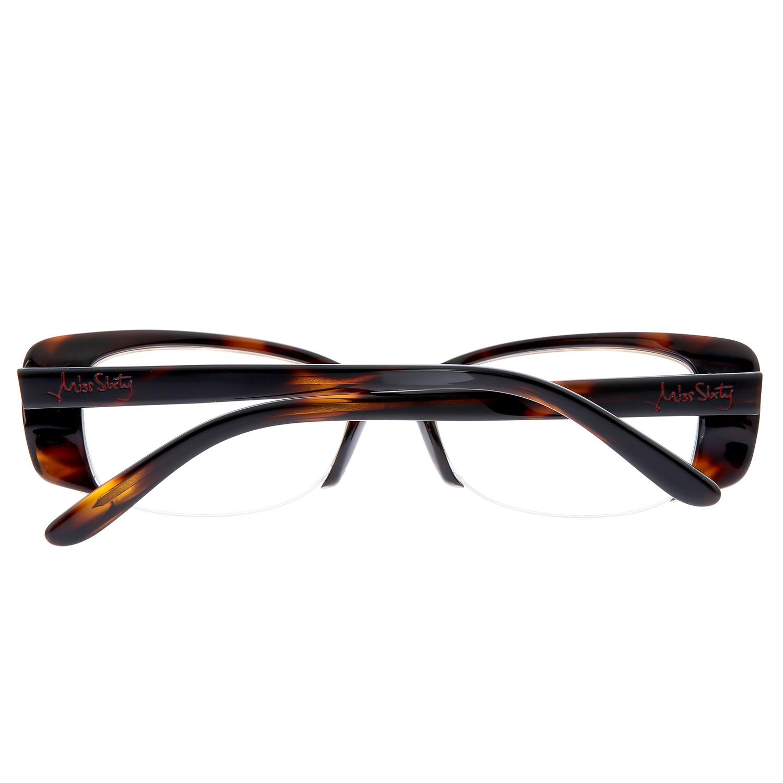 MISS SIXTY Brille Damen Designer Brillengestell Lesebrille Oval ...