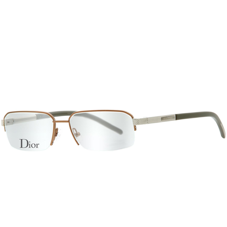 Christian Dior Brille Herren Metall Brillengestell Brillenfassung ...