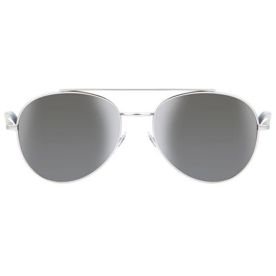 MONTBLANC Men's Aviator Aviator Sunglasses Silver