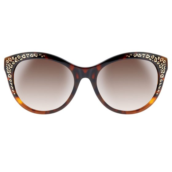 roberto cavalli Ladies Sun Glasses Oval Brown