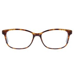 SWAROVSKI Ladies Frame Rectangular Brown