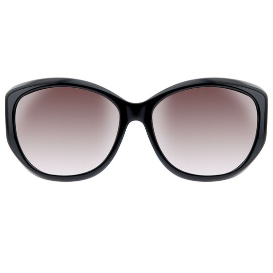 SWAROVSKI sunglasses leisure glasses Ladies Black