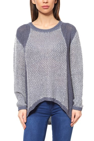 BC Best Connections Ladies Knit Sweater Blue