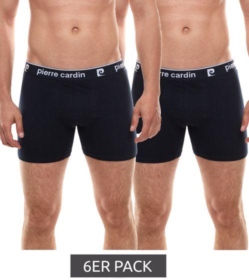6er Pack Pierre Cardin Boxershorts coole Herren Unterhose Navy