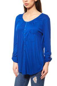 Langarmshirt Damen blau 001