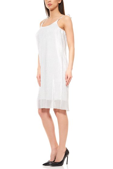 Aniston knielanges Cocktailkleid Silber