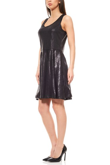 Mini Cocktail-Kleid schwarz Laura Scott