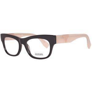 Guess Brille Damen Schwarz Lese-Brillen Brillen-Gestell Brillen-Fassung