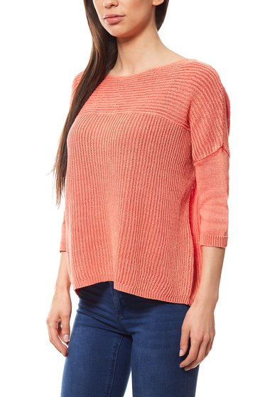 TOM TAILOR POLO TEAM Oversize knit pullover coral