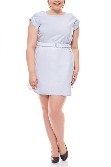 rick cardona by heine knee-length sheath dress Large sizes Blue