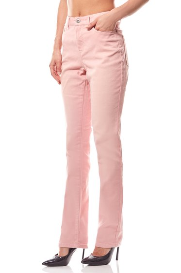 Skinny Jeans Pastelllook Damen Stretch Rosa ARIZONA