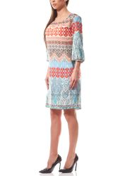 B.C. Best Connections by heine Boho-Print Kleid Damen Bunt 001