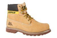 Caterpillar Echtleder Kurzschaft-Stiefel Colorado Herren Beige Schuhe 001