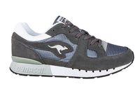 KangaROOS Coil R1 Herren Turnschuhe Sneaker Grau Schuhe – Bild 2