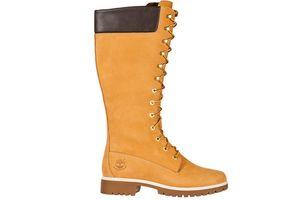 Timberland Echtleder-Stiefel Earthkeepers Premium 14 Beige Damen Schuhe – Bild 2