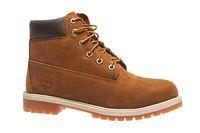 Timberland 6 Inch Premium Rust NBK Junior Echtleder-Stiefel Braun Schuhe – Bild 1