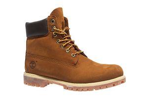 Timberland 6 Inch Premium Herren Echtleder-Boots Braun Schuhe – Bild 1