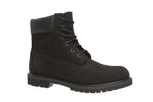 Timberland AF 6-inch Premium BT Damen Echtleder-Boots Schwarz Schuhe