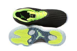 NIKE AIR Jordan Future Low Herren Sneaker Schwarz Schuhe – Bild 6
