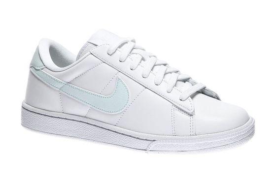 NIKE Tennis Classic Leather Echtleder Sneaker Damen Weiß Schuhe