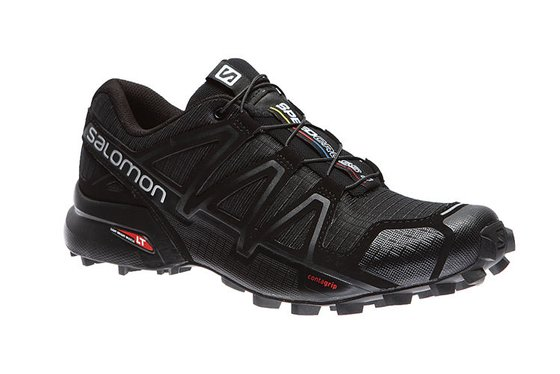 Salomon Speedcross 4 W Trailrunningschuhe Damen Schwarz