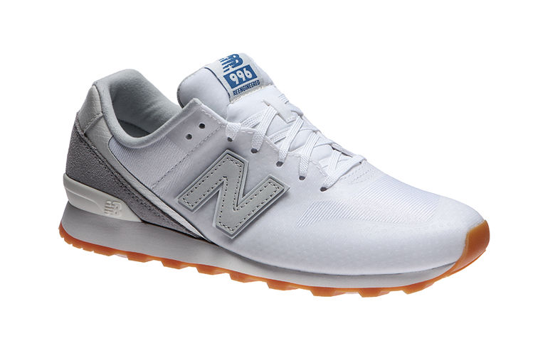 check out 907d7 10ed3 New Balance 996 Sneaker Damen Turnschuhe Weiß