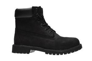 Timberland 6 Inch Premium Echtleder Stiefel Kinder Schwarz Schuhe – Bild 2