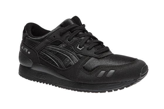 asics Gel-Lyte III Sneaker Kinder Turnschuhe Schwarz Schuhe