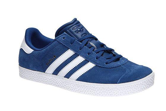 adidas Gazelle 2 Sneaker Kinder Turnschuhe Blau